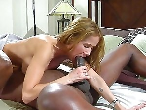 Amazing slut wife fuck her black lover