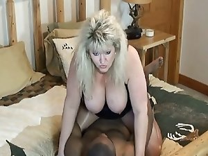Black cock gives Mature BBW the best fuck she's ever had