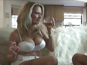 Big tits blonde babe in hardcore XXX action