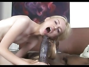Skinny Teen Kennedy Kressler has a bbc