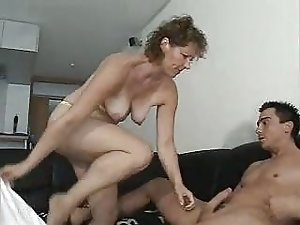 German mother seduces her horny son